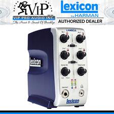 NEW Lexicon Lambda Desktop Recording Studio 4x2 USB Interface Authorized Dealer