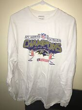 2XL Baltimore Ravens Long Sleeve T Shirt Men's 2006 playoffs nfl