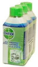 3 x  250ml Dettol Washing Machine Cleaner Sanitizing Formula Eliminates Odours