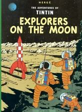 Explorers on the Moon (The Adventures of Tintin) Herge Books-Good Condition