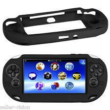 NERO Morbida in Silicone Skin Protector Cover Shell Per Sony PS Vita Console PSP