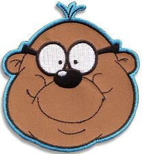 Penfold (Danger Mouse) iron-on / sew-on cloth patch   (wg)