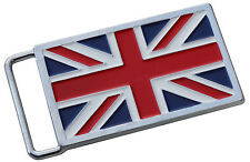 Union Jack flag British belt buckle - cast metal