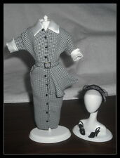 OUTFIT MATTEL BARBIE DOLL I LOVE LUCY DOES A TV COMMERCIAL DRESS HAT & SHOES