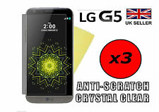 3x HQ CRYSTAL CLEAR HD SCREEN PROTECTOR COVER SAVER LCD FILM GUARD FOR LG G5