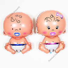"Party Decoration Birthday Baby Shower Twins Boy Girl Helium Foil Balloon 30"" 2pc"