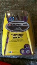 Monster THX Component Video 500 Advanced Performance Cable Progressive Scan HDTV