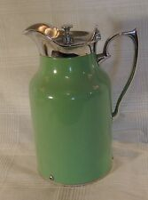 Canadian Thermos pitcher jadite green