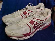 Alabama Crimson Tide Nike Air Max Moto +8 Training Shoes White/Crimson Size 20