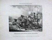 Preußen Freiheitskriege Napoleon Dragoner Büchsen-Schützen Uniform Franz Krüger