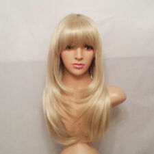 Cosplay Synthetic Baby Blonde Straight Wig 22""