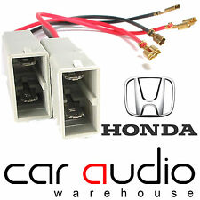 CT55-HD01 Honda Accord Civic Front Door Car Speaker Adaptor Plug Lead Connectors