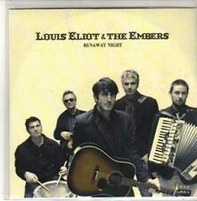 (CH168) Louis Eliot & The Embers, Runaway Night - DJ CD