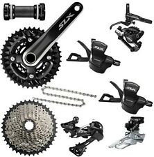Brand New Shimano SLX M7000 3x10 Speed Triple Groupset With Disc Brake 8 pcs
