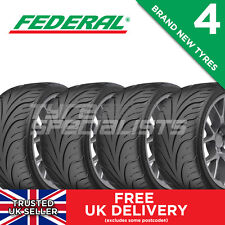4x NEW 265 35 18 FEDERAL 595-RSR 93W TRACK/RACE/ROAD TYRE 265/35R18 (4 TYRES)