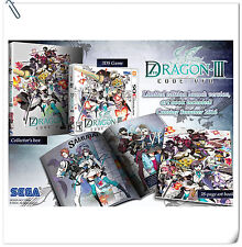 3DS Nintendo 7th Dragon III Code: VFD SEGA RPG Games