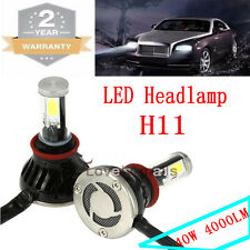 Auto Car H11 H8 H9 80W LED Headlight KIT Headlamp Light Xenon 10K Blue Bulbs U1