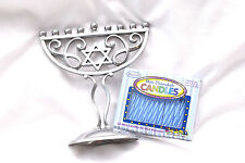 Chanukah Jewish Hanukah Holidays Gift Present Mini Menorah Chanukia + 44 Candles