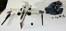 STAR WARS ARC-170 AND STAR WARS TRI - DROID FIGHTER GOOD USED CONDITION