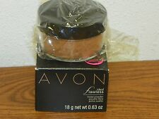 Avon Ideal Shade Flawless Large Loose Powder Fawn Shade S302 New Free Ship    jh