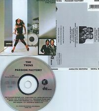 THE TWINS-PASSION FACTORY-1982-REMASTERED IN 2004-GERMANY-CD-NEW-