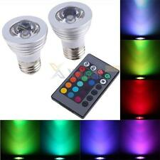 2PC  Magic Lighting LED Light Bulb And Remote W 16 Different Colors And 5 Modes