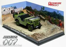 JAMES BOND 007 OCTOPUSSY - 1953 WILLYS JEEP 1:43 DIECAST MODELLO