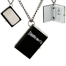 US Anime Death Note L Necklace Pocket Watch -Funny and Cool Gift