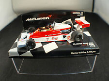 Minichamps F1 Mc Laren Ford M26 Hunt Ed 43 n°95 1978 1/43  boxed / en boîte MIB