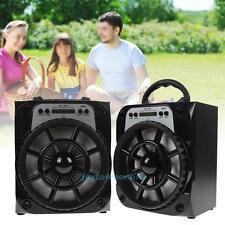Portable Outdoor Bluetooth Wireless Speaker Super Bass with USB/TF/AUX/FM Radio
