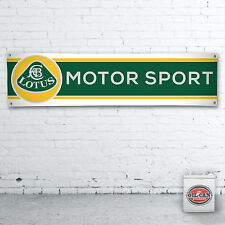 1700 x 430mmm LOTUS MOTORSPORT Banner heavy duty workshop, garage mancave