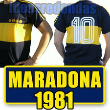 BOCA Juniors 1981 * MARADONA Retro SHIRT COLLECTION