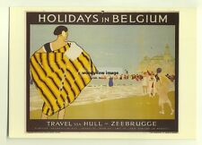 ad2786  -  LMS  -  Holidays in Belguim  -  modern poster advert postcard