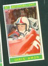 Figurina Campioni dello Sport Panini 1967-68 n.97! C.Amon! Ottima Rec