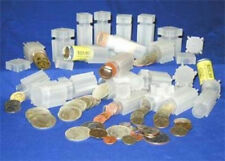 10  Coin Safe Square Coin Tubes    Mix & Match Sizes