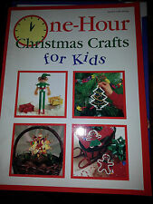 One-Hour Christmas Crafts for Kids (1993, Paperback)