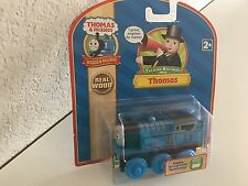 THOMAS (wooden Railway) -with Engine recognition -Retired NEW in pkg- FREE Ship!