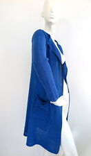 The Masai Clothing Company Womens Long Blue Cardigan front open size S/M