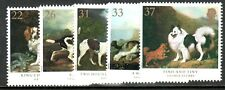 GB GREAT BRITAIN 1991 DOGS PAINTINGS SET NEVER HINGED MINT