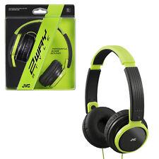 JVC Lightweight headphones HA-S200-ZG - Green