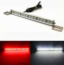 LED Backup Reverse On Universal Bolt License Plate Light Lamp For car moto White