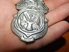 ANTIQUE OBSOLETE US ARMY MILITARY POLICE BADGE NUMBERED MP