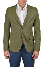 "Hugo Boss ""Arnandos"" Men's Olive Green Two Button Sport Coat Blazer US 40R IT 50"