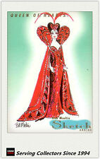 1997 Tempo World Of Barbie Cards Bob Mackie Sketch Card SK2 Queen Of Hearts