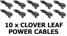 10 x Clover Leaf Cord Plug 3-Pin Power Lead Cable 240V/10A Laptop 1.5m Notebook