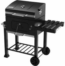 BBQ Grill Outdoor Charcoal Barbecue Pit Patio Backyard Meat Iron Cooker Smoker