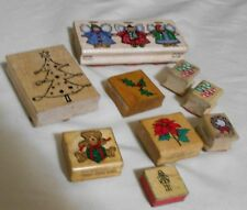 Decorative Christmas Rubber Stamps (9)