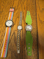 New Old Stock LeJour Lot of 3 SAMPLE DUMMY WATCHES FOR REPAIR PARTS MOD Look