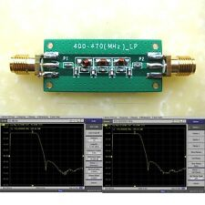 400-470Mhz 433Mhz Low-pass Filter LPF SWR  1.22
