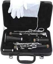 Clarinet for Beginner Student *Comes with Hard Case, Cleaning Cloth, Gloves*